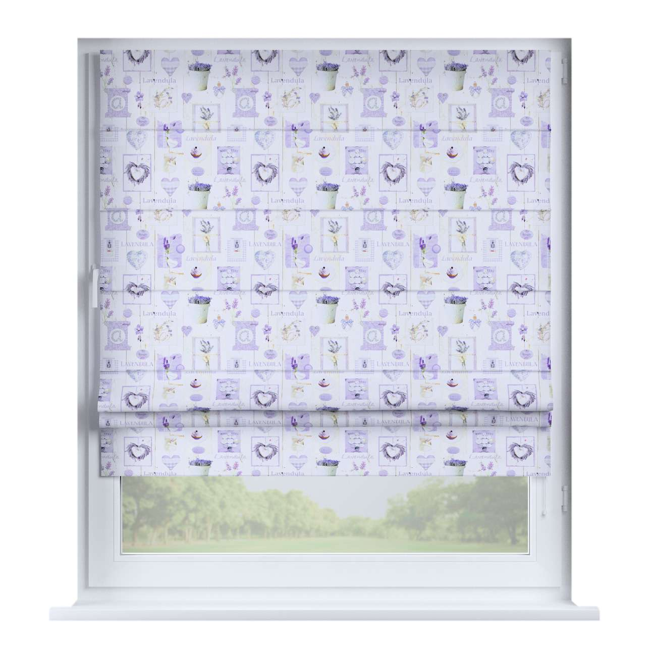 Padva roman blind  80 x 170 cm (31.5 x 67 inch) in collection Ashley, fabric: 140-18