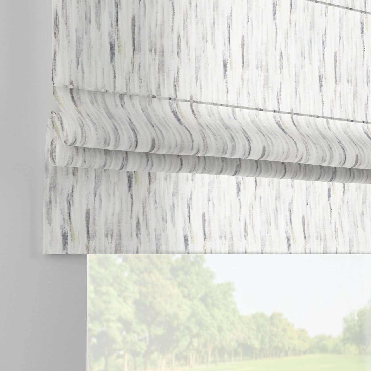 Padva roman blind  80 x 170 cm (31.5 x 67 inch) in collection Aquarelle, fabric: 140-66