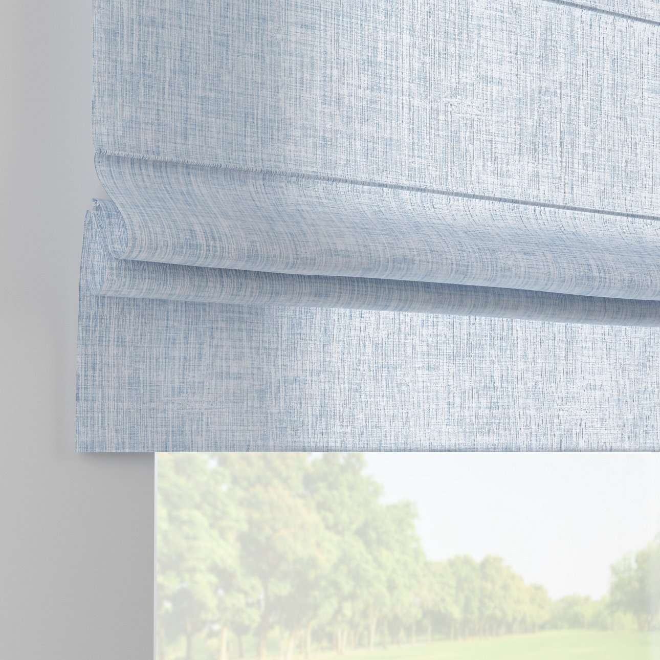 Padva roman blind  80 x 170 cm (31.5 x 67 inch) in collection Aquarelle, fabric: 140-74