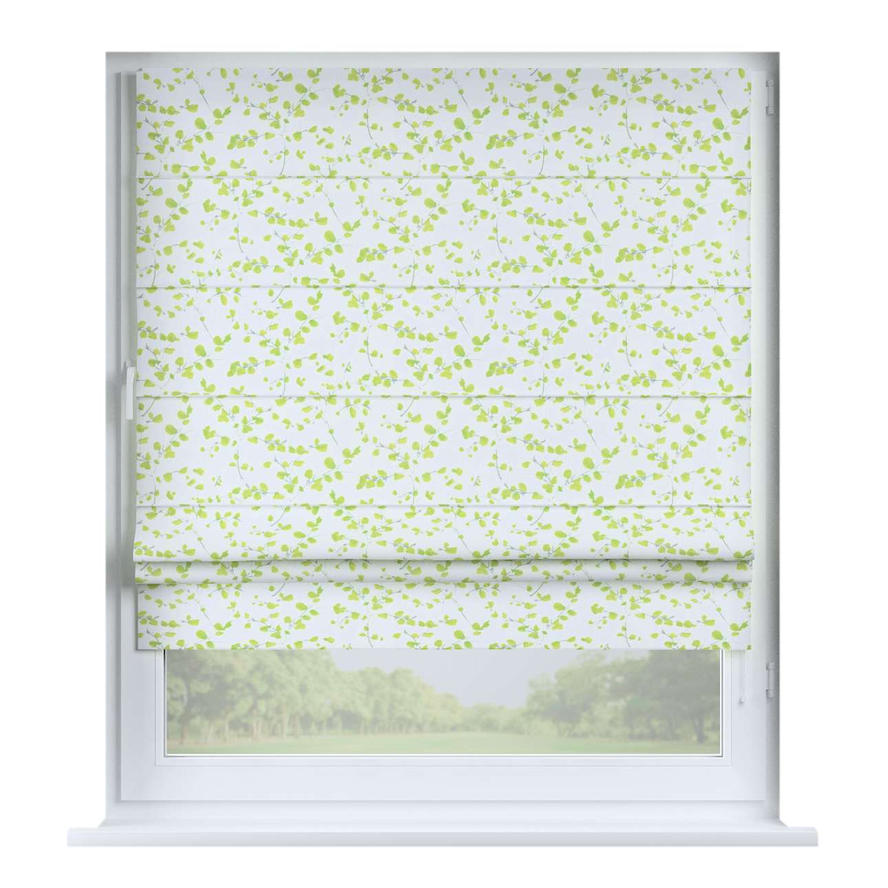 Padva roman blind  80 x 170 cm (31.5 x 67 inch) in collection Aquarelle, fabric: 140-76