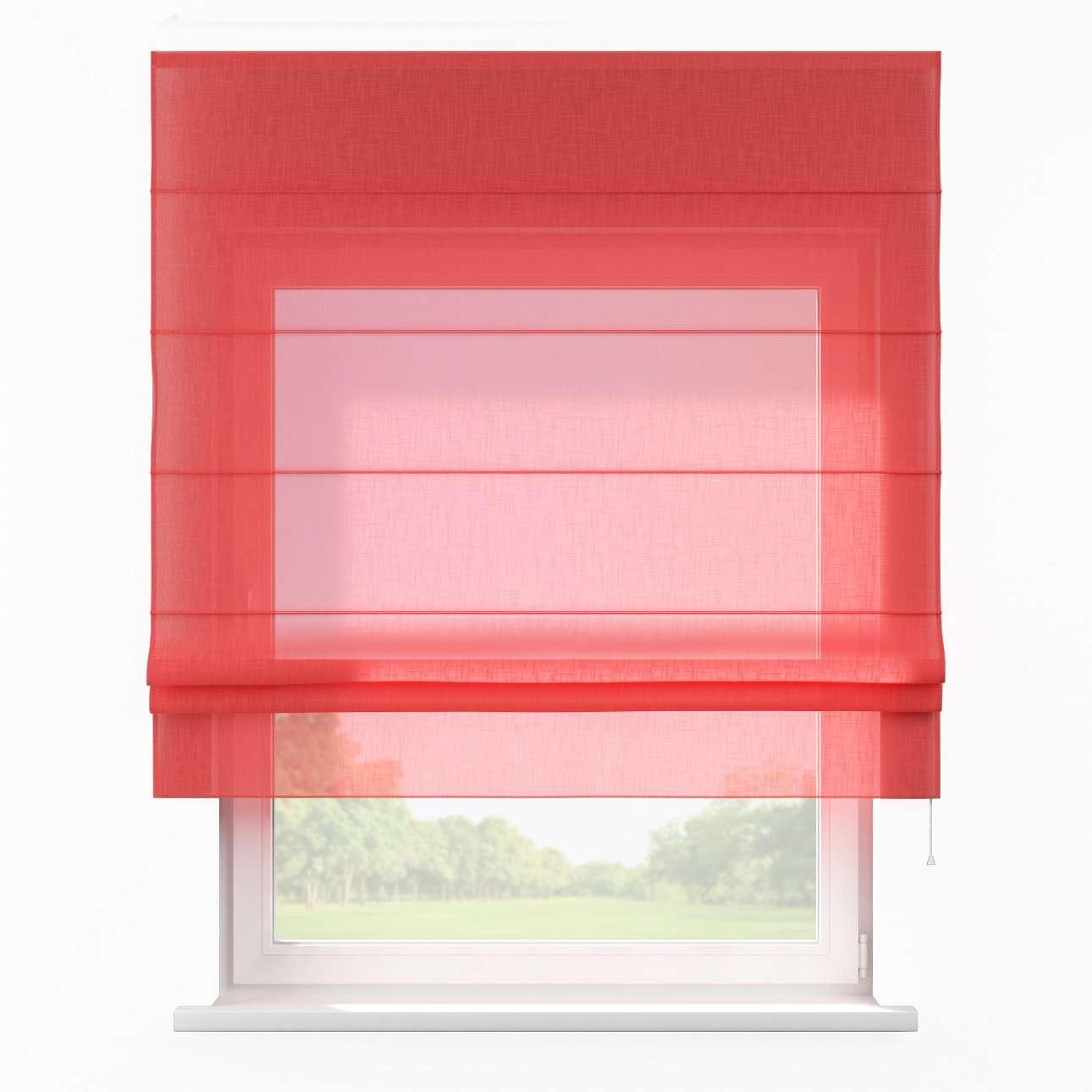 Raffrollo Padva, rot , 80 × 170 cm, Romantica