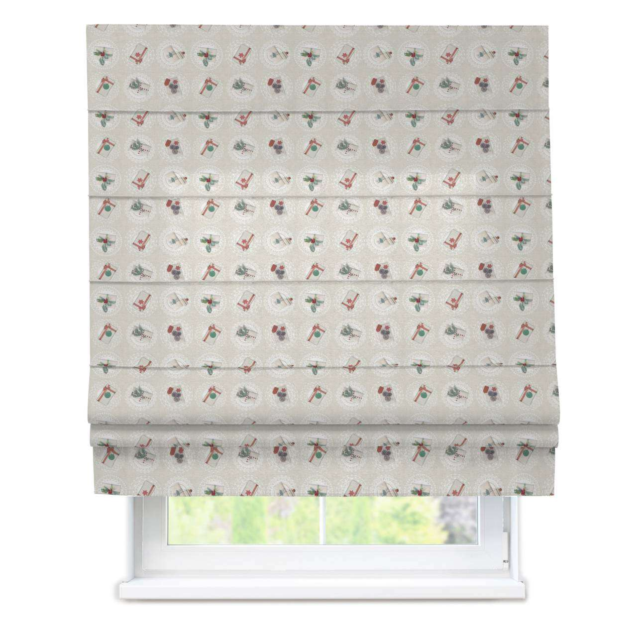 Padva roman blind  80 x 170 cm (31.5 x 67 inch) in collection Christmas , fabric: 629-30