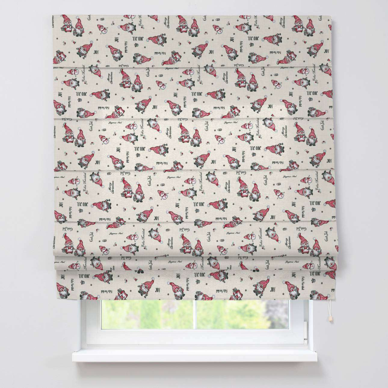 Padva roman blind  80 x 170 cm (31.5 x 67 inch) in collection Christmas , fabric: 629-28