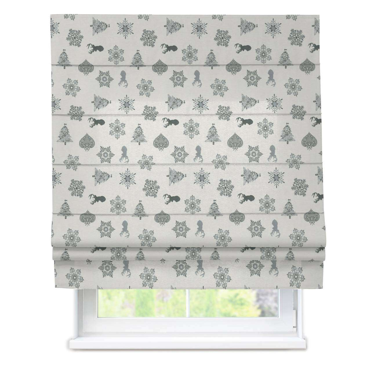 Padva roman blind  80 x 170 cm (31.5 x 67 inch) in collection Christmas, fabric: 630-24