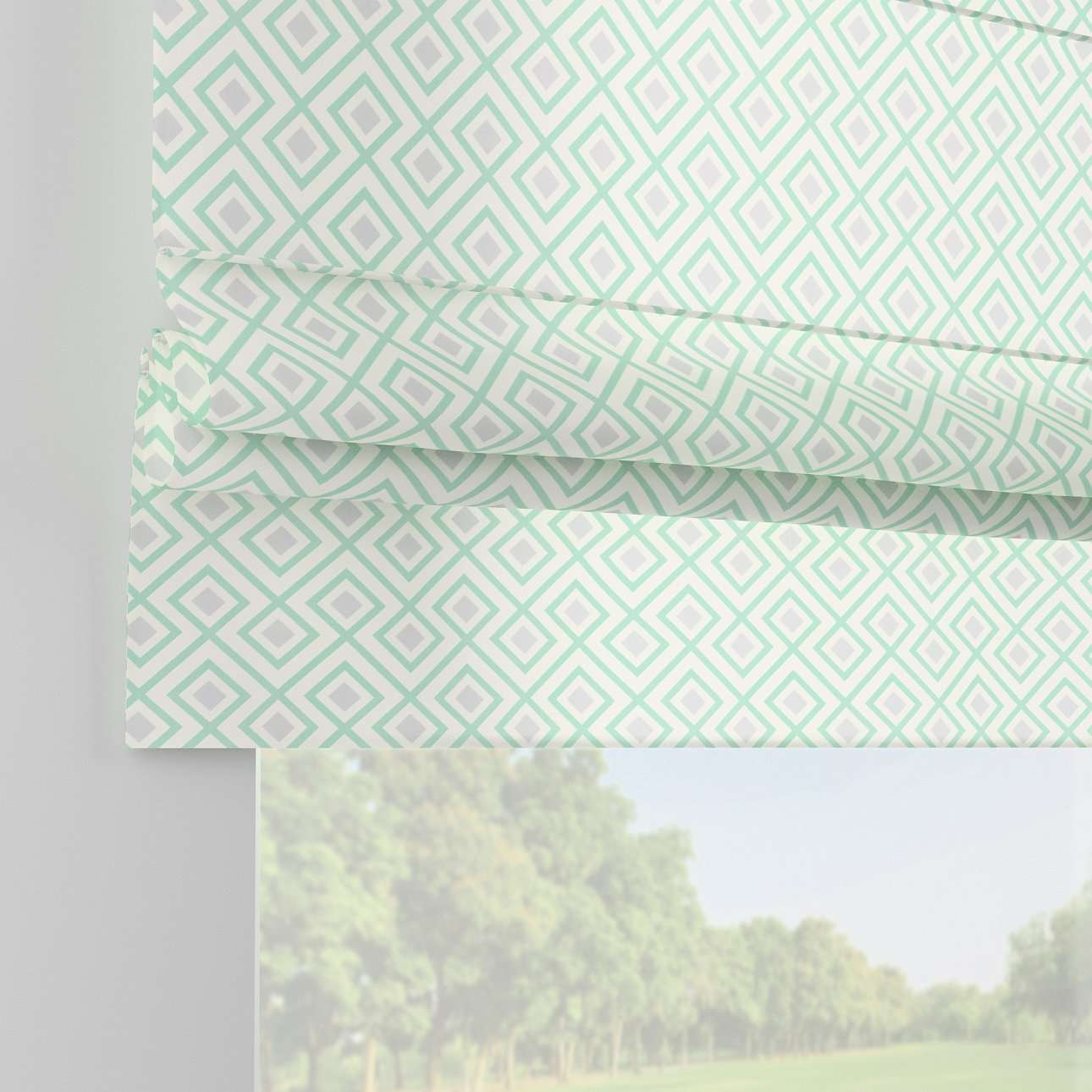 Padva roman blind  in collection Geometric, fabric: 141-45