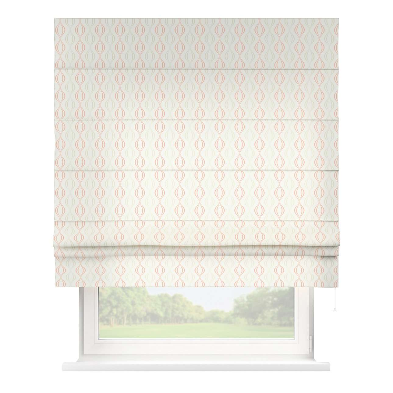 Padva roman blind  80 x 170 cm (31.5 x 67 inch) in collection Geometric, fabric: 141-49