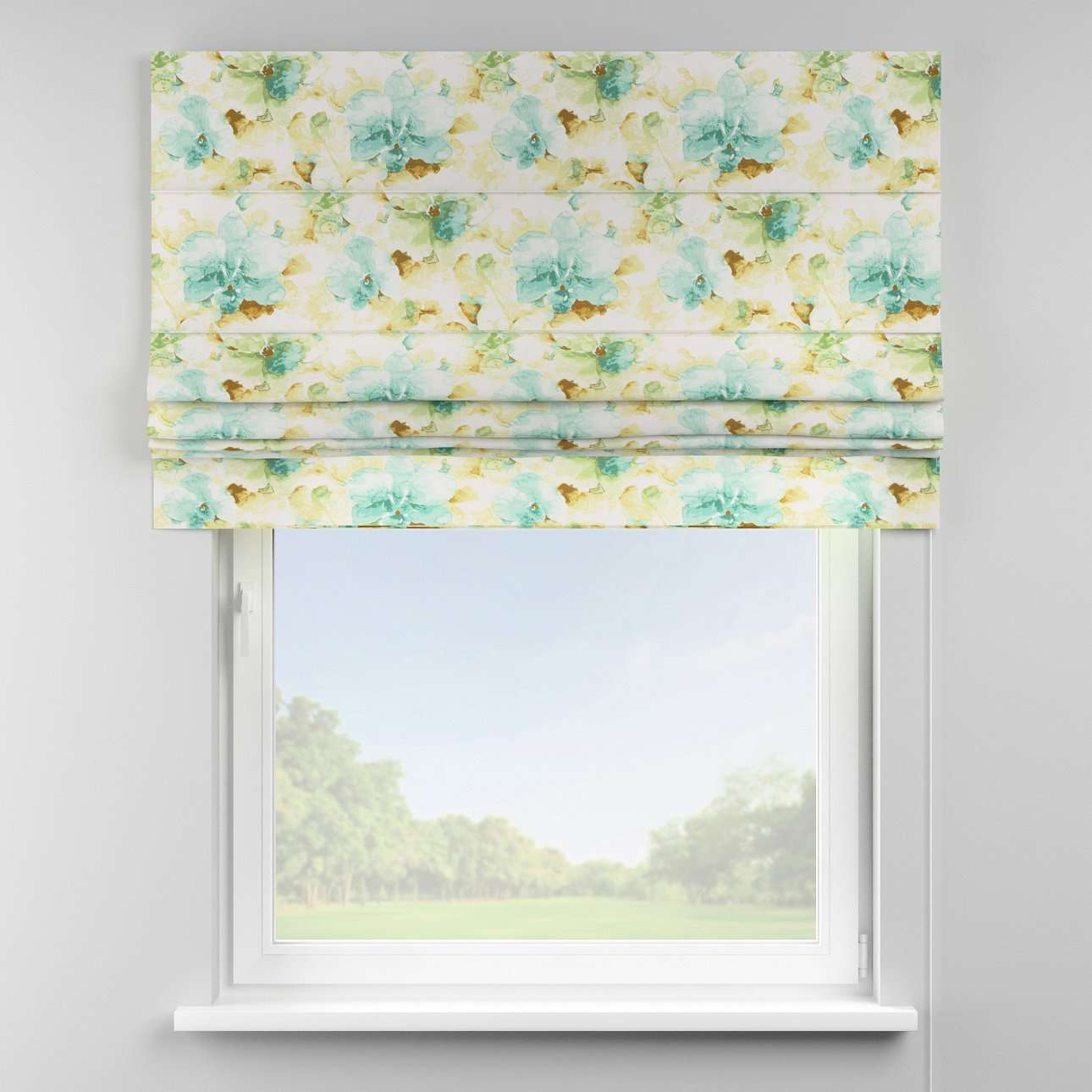 Padva roman blind  80 x 170 cm (31.5 x 67 inch) in collection Acapulco, fabric: 141-35
