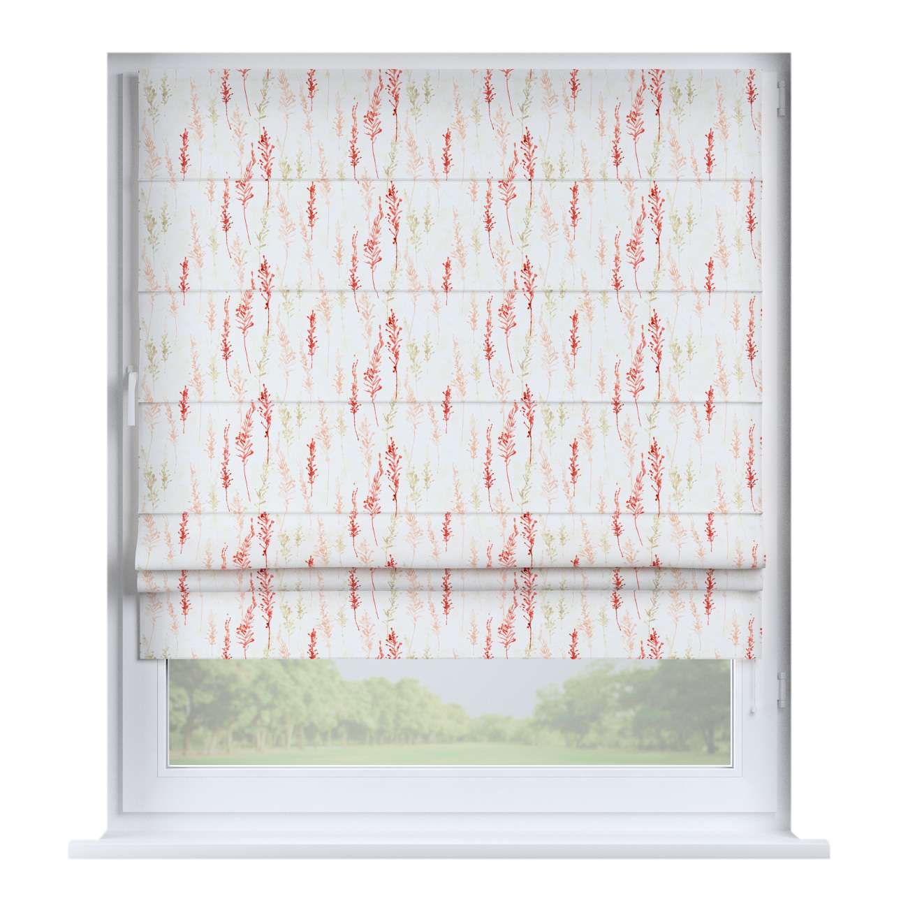 Padva roman blind  80 x 170 cm (31.5 x 67 inch) in collection Acapulco, fabric: 141-37