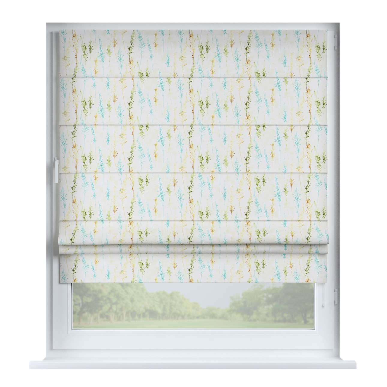 Padva roman blind  80 x 170 cm (31.5 x 67 inch) in collection Acapulco, fabric: 141-38