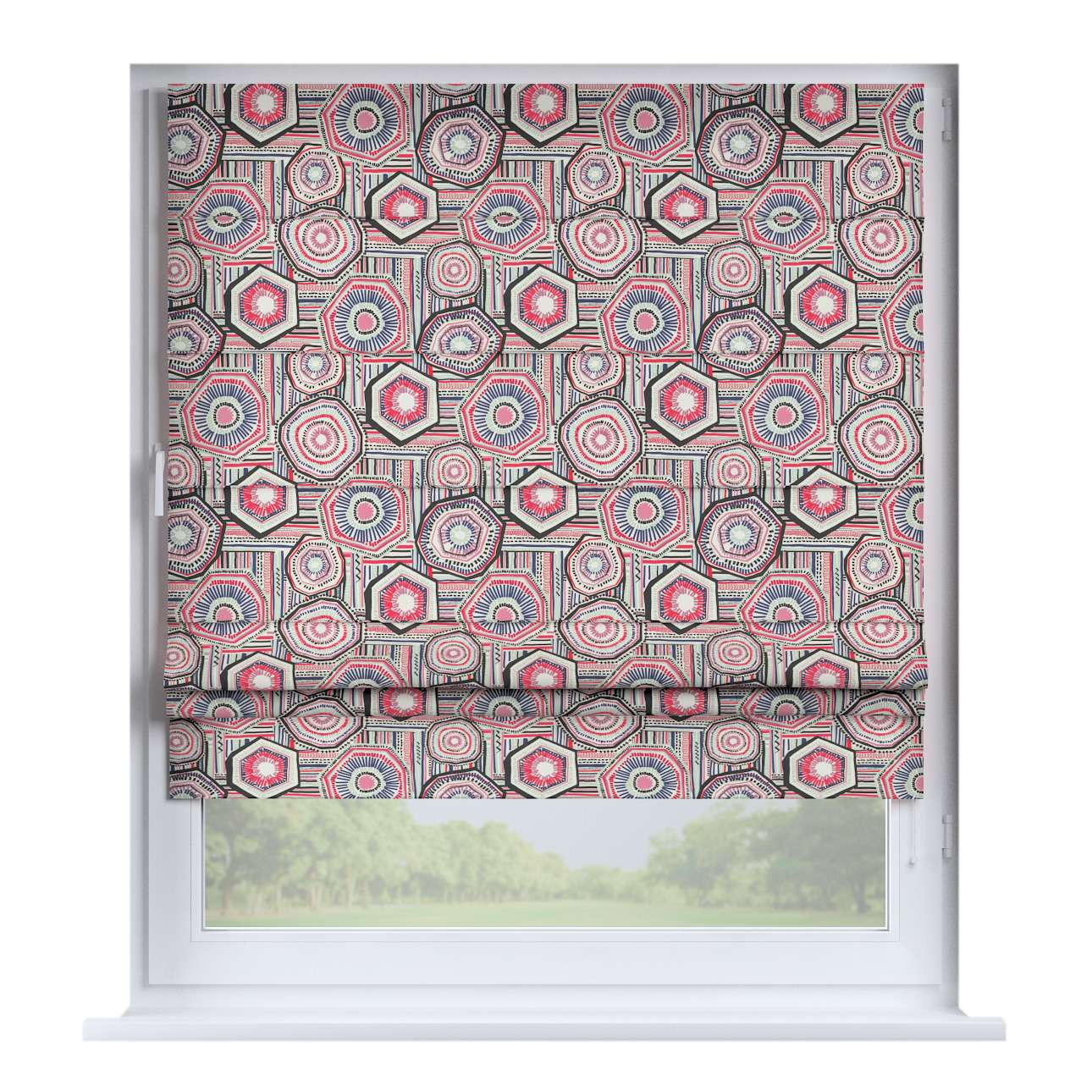 Padva roman blind  80 × 170 cm (31.5 × 67 inch) in collection New Art, fabric: 141-54
