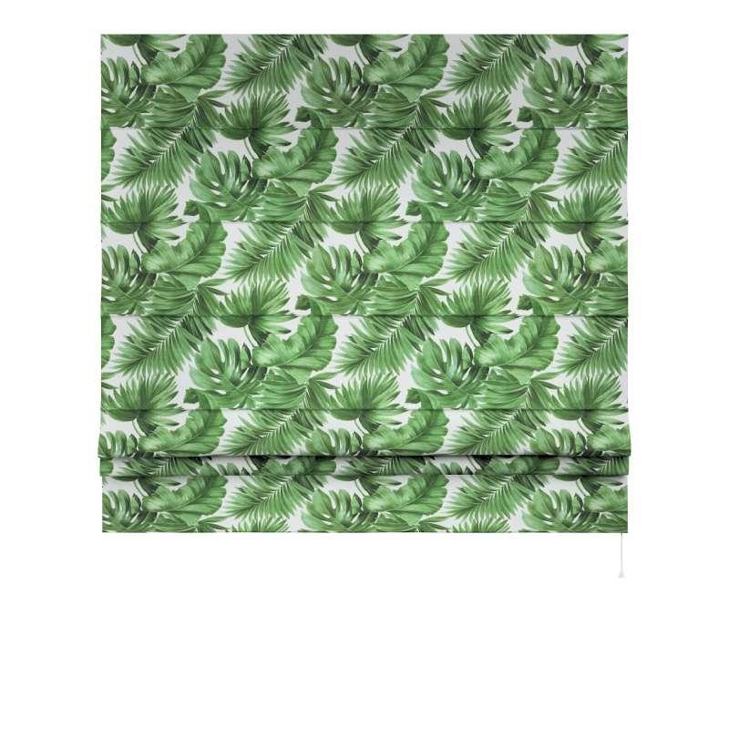 Foldegardin Paris<br/>Med lige flæse fra kollektionen Tropical Island, Stof: 141-71