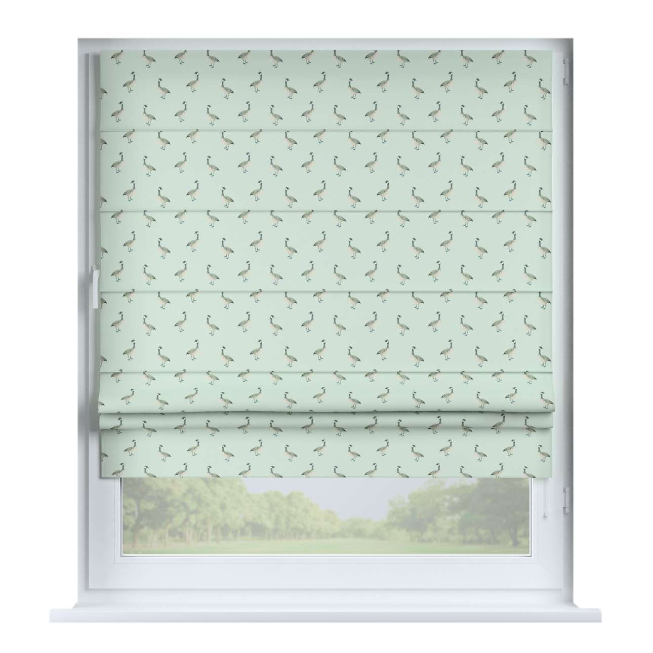 Padva roman blind in collection Flowers, fabric: 141-79