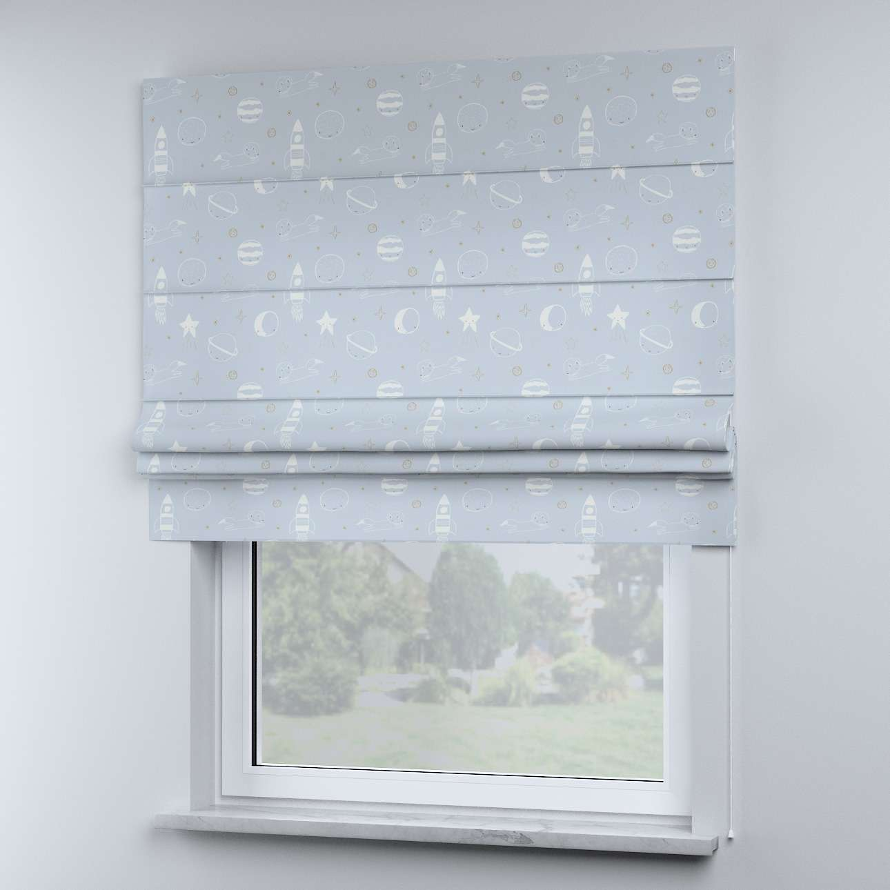 Sammy roman blind in collection Magic Collection, fabric: 500-16