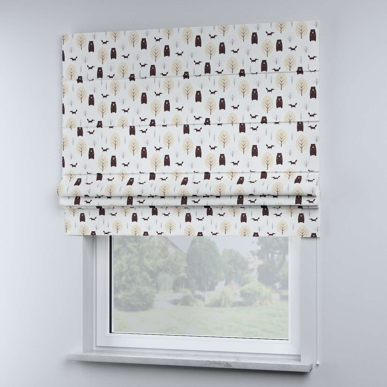 Sammy roman blind in collection Magic Collection, fabric: 500-19