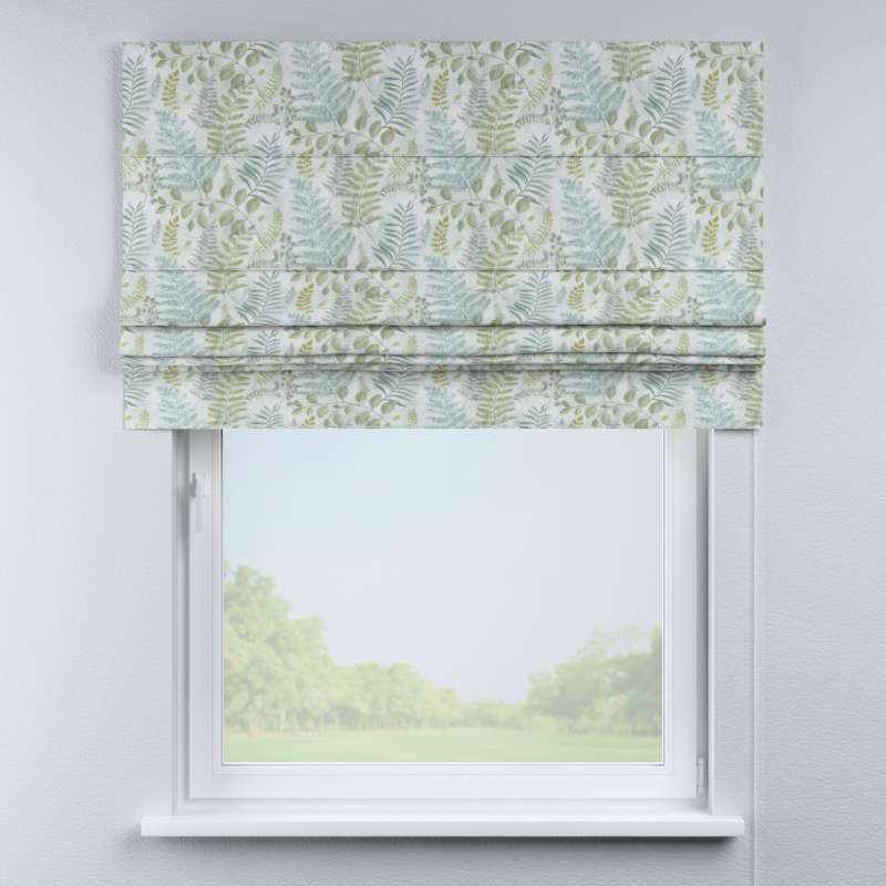 Padva roman blind in collection Pastel Forest, fabric: 142-46