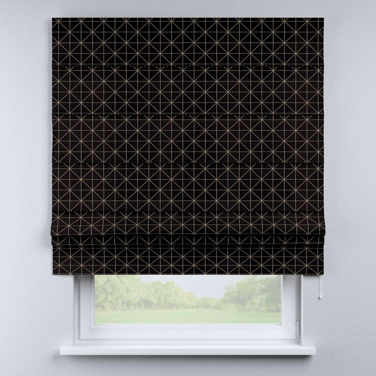 Vouwgordijn Padva van de collectie Black & White, Stof: 142-55
