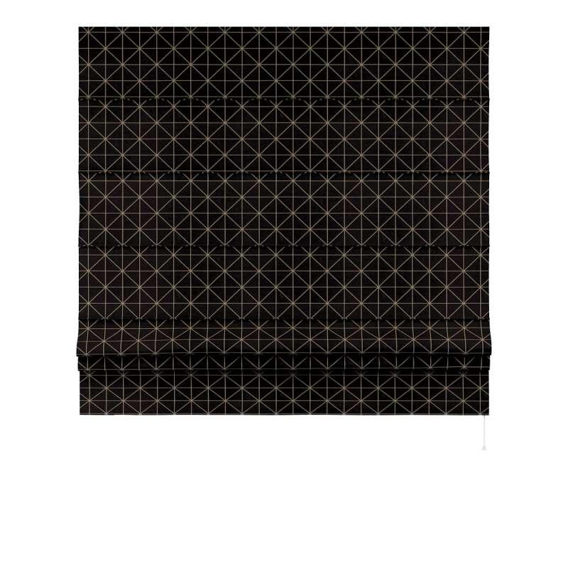 Foldegardin Paris<br/>Med lige flæse fra kollektionen Black & White, Stof: 142-55