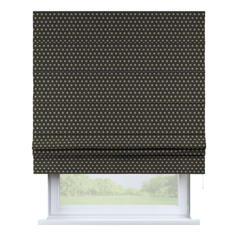 Padva roman blind in collection Black & White, fabric: 142-56