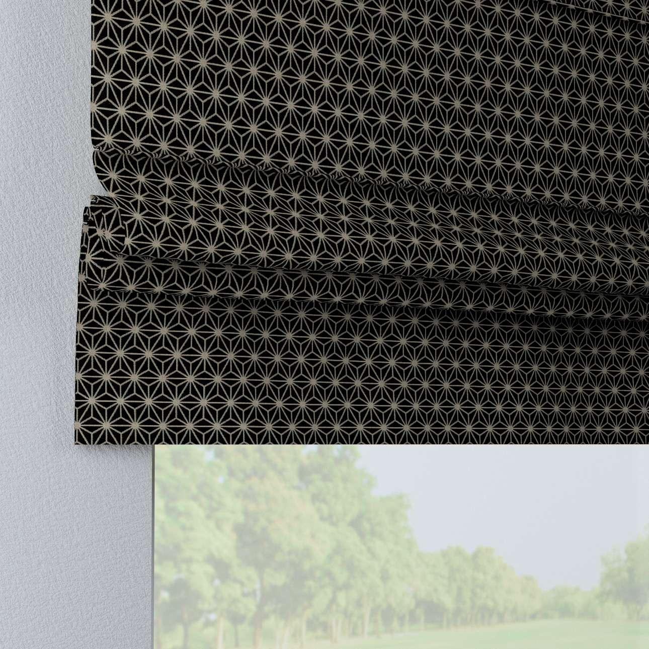 Vouwgordijn Padva van de collectie Black & White, Stof: 142-56