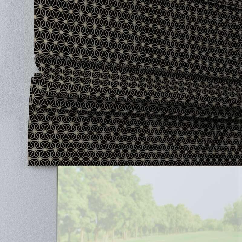 Raffrollo Padva von der Kollektion Black & White, Stoff: 142-56