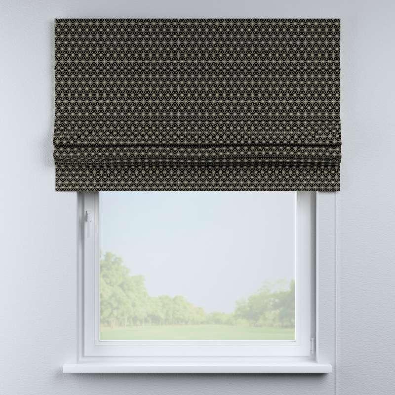 Foldegardin Paris<br/>Med lige flæse fra kollektionen Black & White, Stof: 142-56