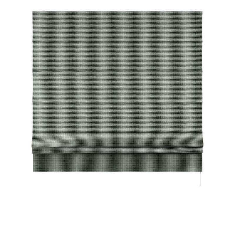 Foldegardin Paris<br/>Med lige flæse fra kollektionen Black & White, Stof: 142-77