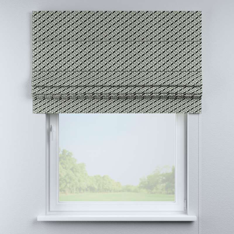 Padva roman blind in collection Black & White, fabric: 142-78