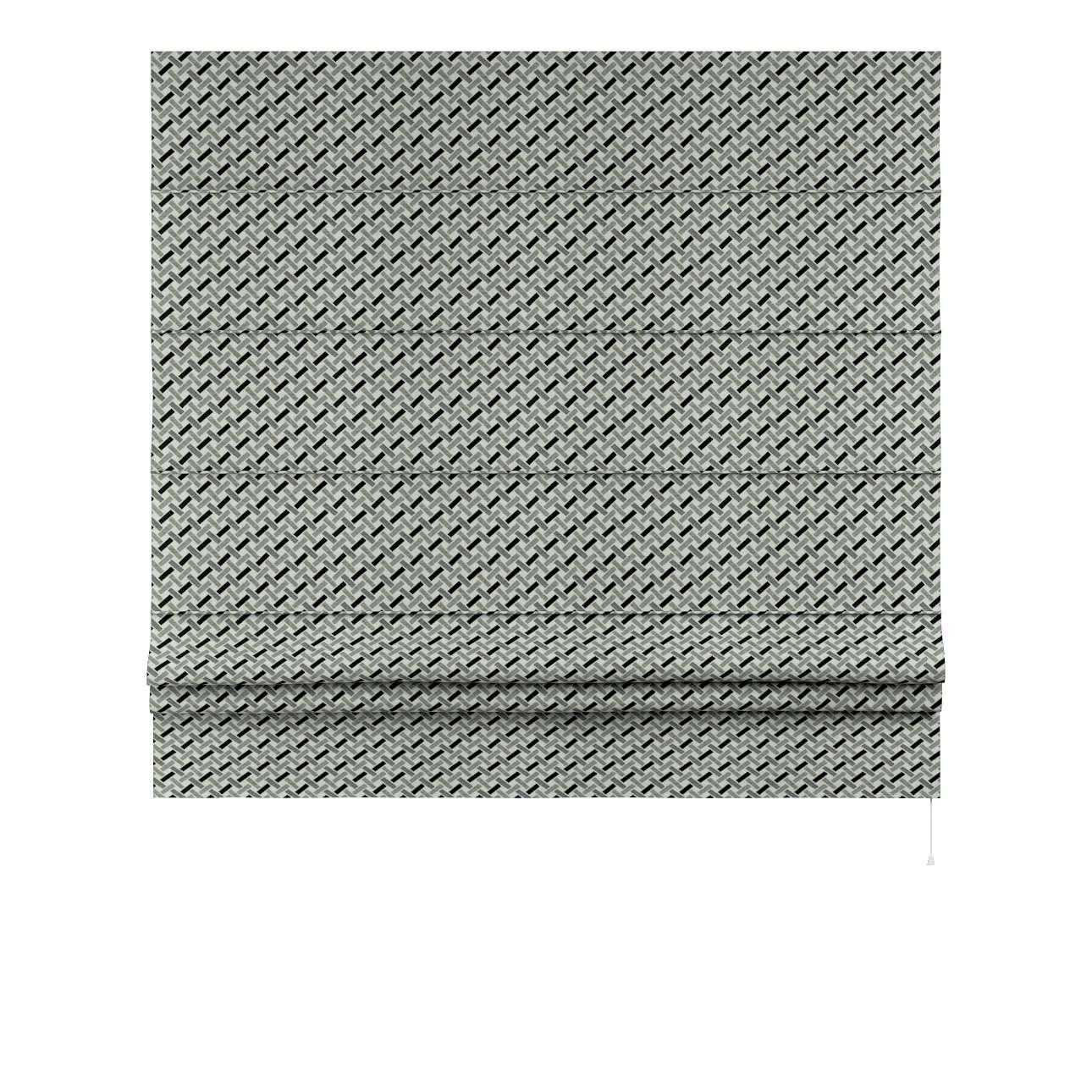 Vouwgordijn Padva van de collectie Black & White, Stof: 142-78