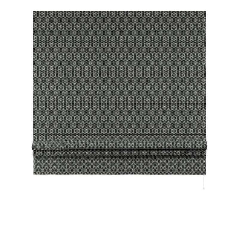 Raffrollo Padva von der Kollektion Black & White, Stoff: 142-86