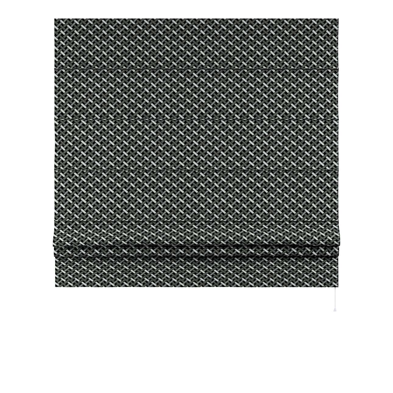 Liftgardin Paris<br/>Med rett volang fra kolleksjonen Black & White, Stoffets bredde: 142-87