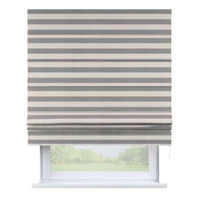 Romanetės Padva 142-71 baltos - pilkos juostelės (5,5 cm) Kolekcija Quadro