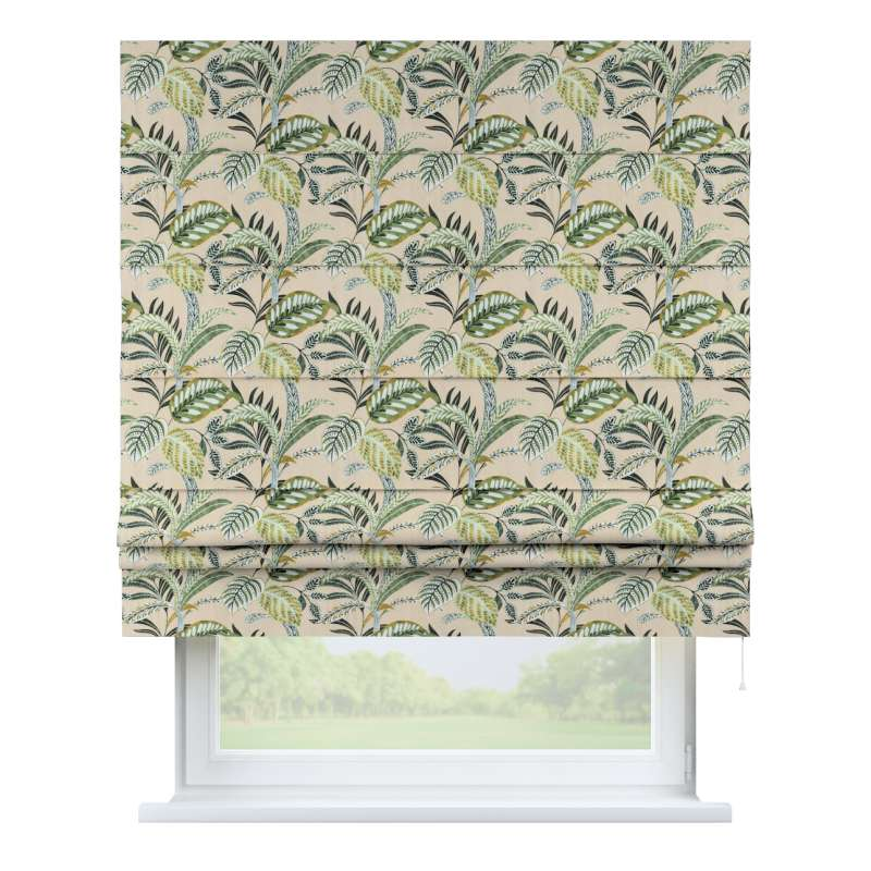 Padva roman blind in collection Tropical Island, fabric: 142-96