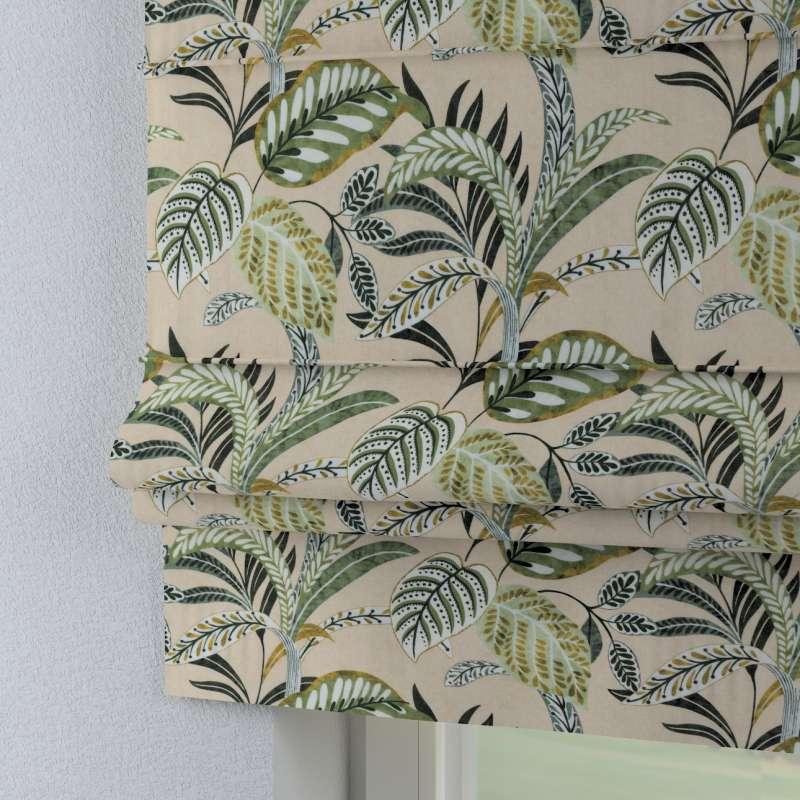 Foldegardin Paris<br/>Med lige flæse fra kollektionen Tropical Island, Stof: 142-96