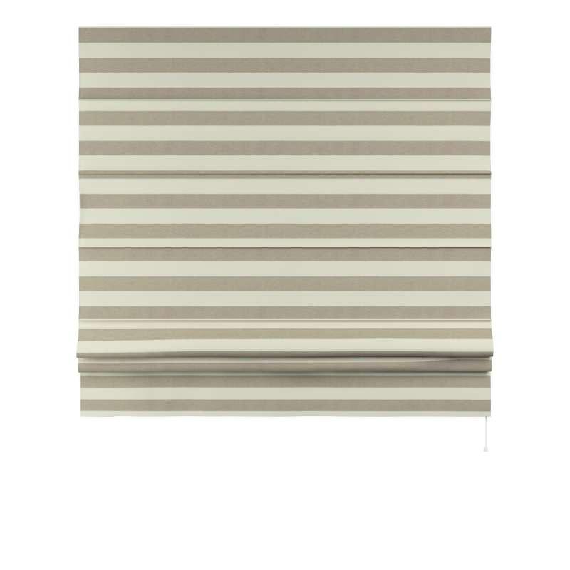 Foldegardin Paris<br/>Med lige flæse fra kollektionen Quadro II, Stof: 142-73