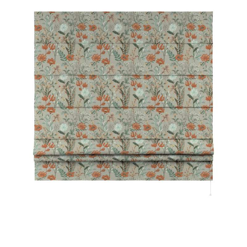 Vouwgordijn Padva van de collectie Flowers, Stof: 143-70