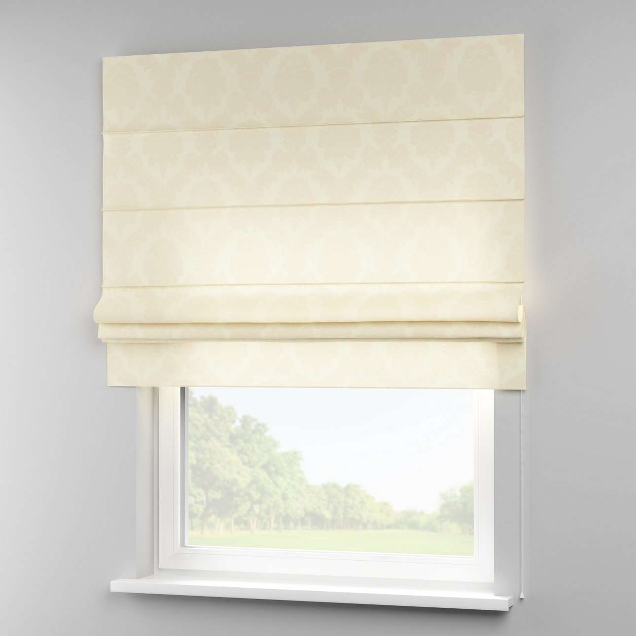 Padva roman blind  80 x 170 cm (31.5 x 67 inch) in collection Damasco, fabric: 613-01