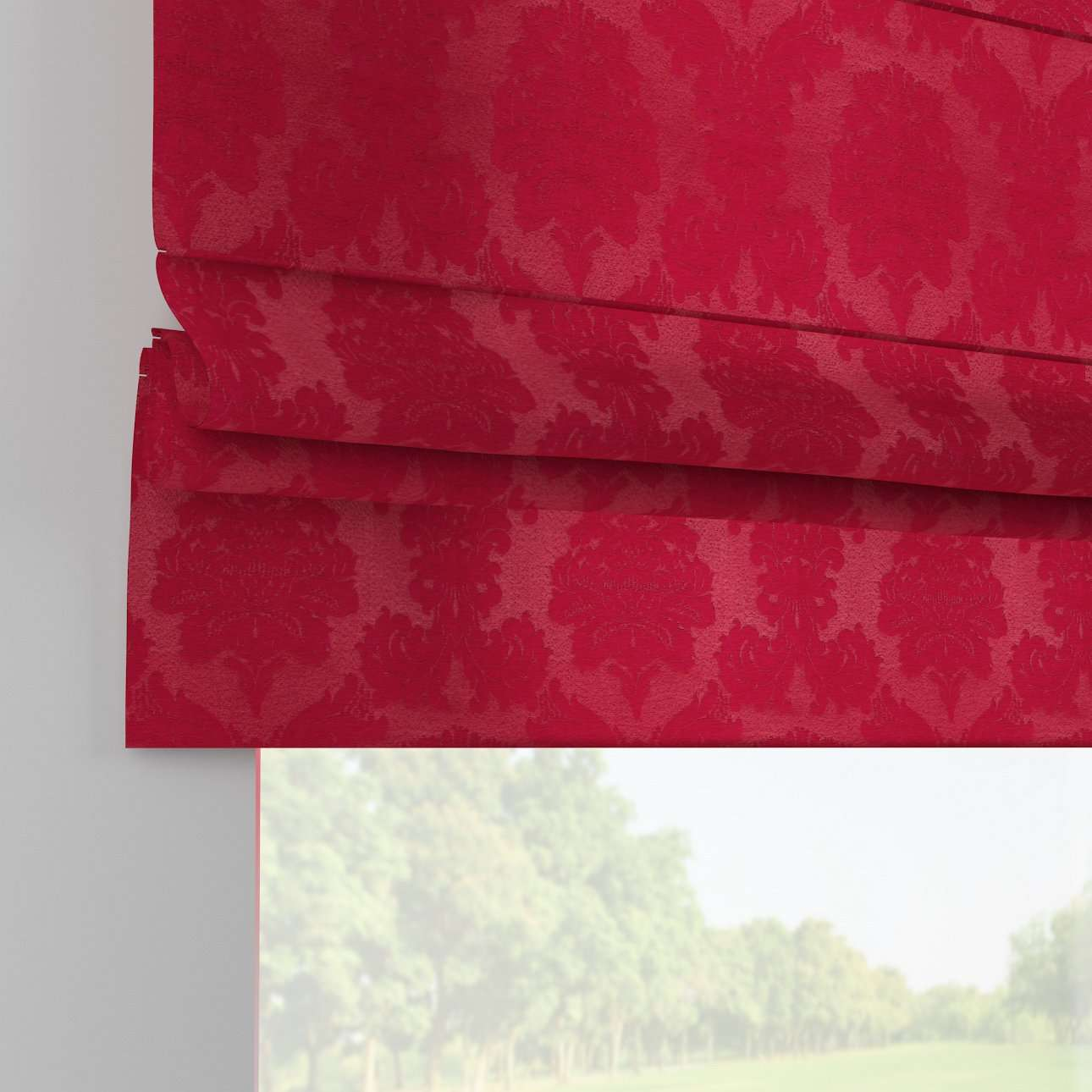 Padva roman blind  80 x 170 cm (31.5 x 67 inch) in collection Damasco, fabric: 613-13