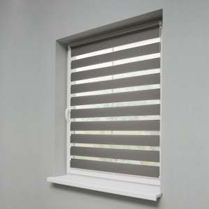 Window recess Day & Night Venetian roller blind 38x150cm in collection Roller blinds Day & Night (Venetian blind), fabric: 1220