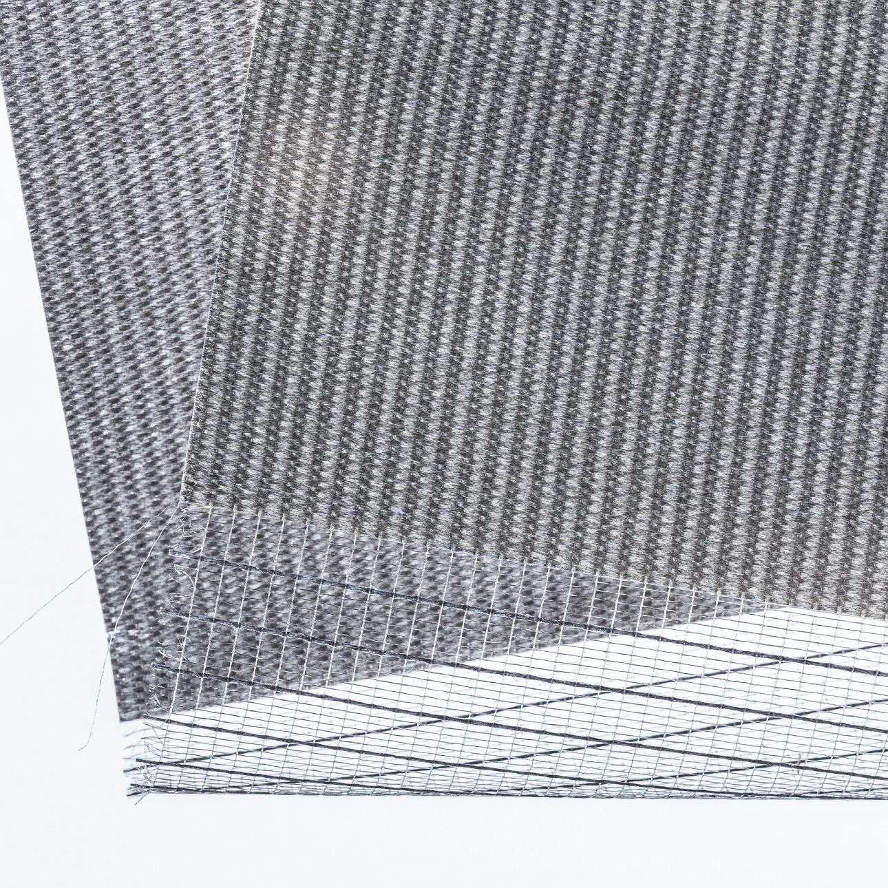 Lamel-rullegardiner - Mini 38x150cm fra kolleksjonen LamelRullegardin, Stoffets bredde: 1220