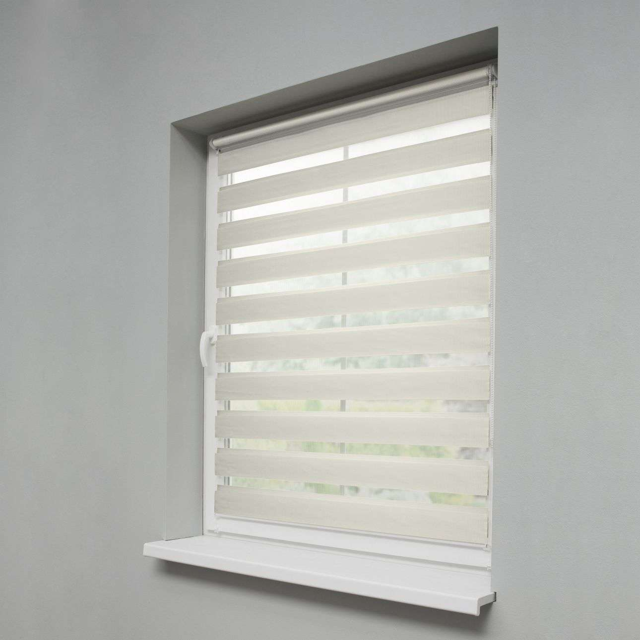 Mini Day & Night Roller Blind 38x150cm in collection Roller blinds Day & Night (Venetian blind), fabric: 0212