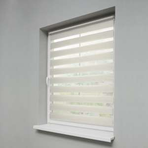 Window recess Day & Night Venetian roller blind 38x150cm in collection Roller blinds Day & Night (Venetian blind), fabric: 0212