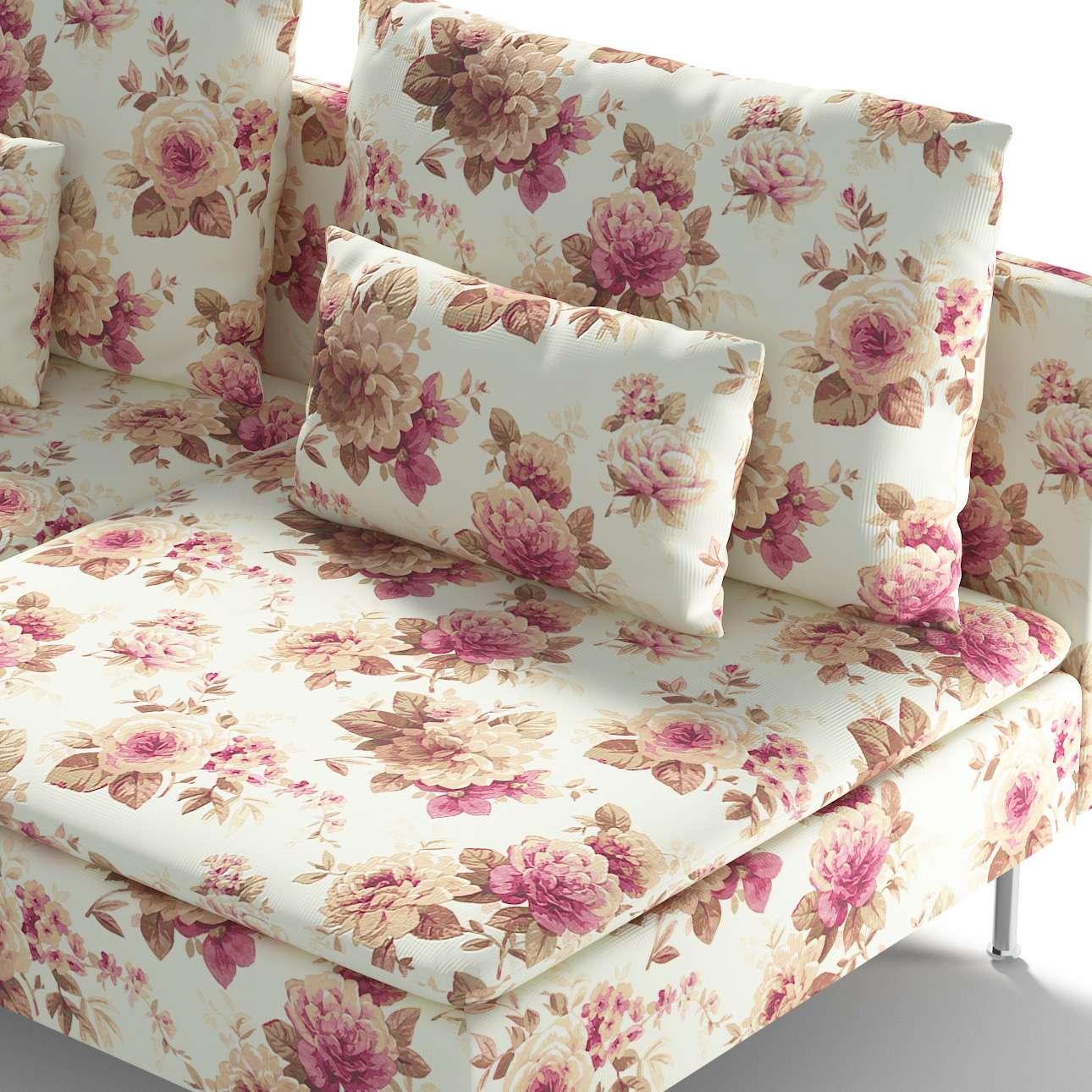 Ikea Söderhamn trivietei sofai užvalkalas Ikea Söderhamn moduliniai trivietei sofai užvalkalas kolekcijoje Mirella, audinys: 141-06