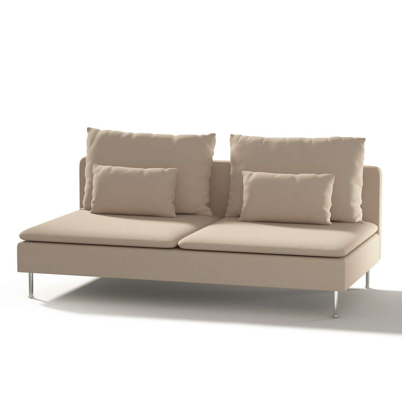 Söderhamn 3-seater section in collection Panama Cotton, fabric: 702-01