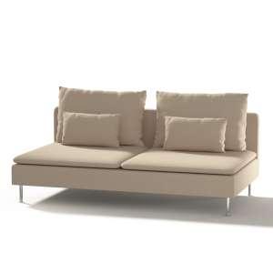 Ikea Söderhamn trivietei sofai užvalkalas Ikea Söderhamn moduliniai trivietei sofai užvalkalas kolekcijoje Cotton Panama, audinys: 702-01
