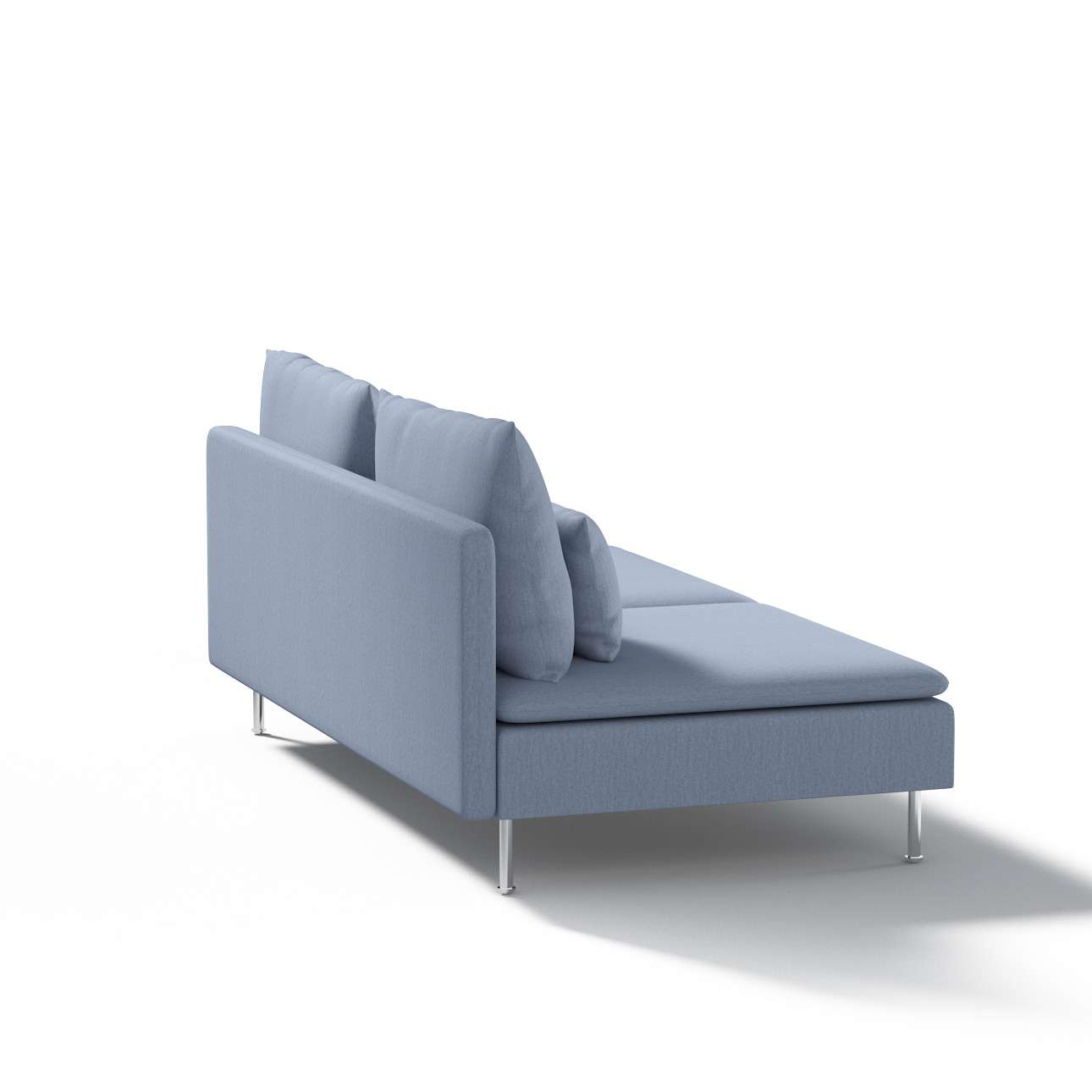 Ikea Söderhamn trivietei sofai užvalkalas Ikea Söderhamn moduliniai trivietei sofai užvalkalas kolekcijoje Chenille, audinys: 702-13