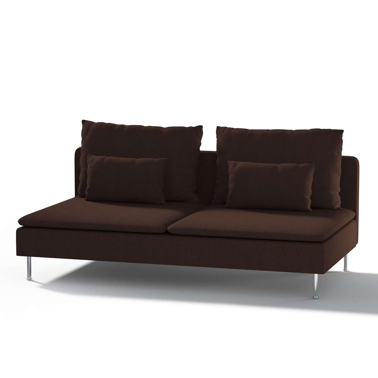 Ikea Söderhamn trivietei sofai užvalkalas Ikea Söderhamn moduliniai trivietei sofai užvalkalas kolekcijoje Chenille, audinys: 702-18