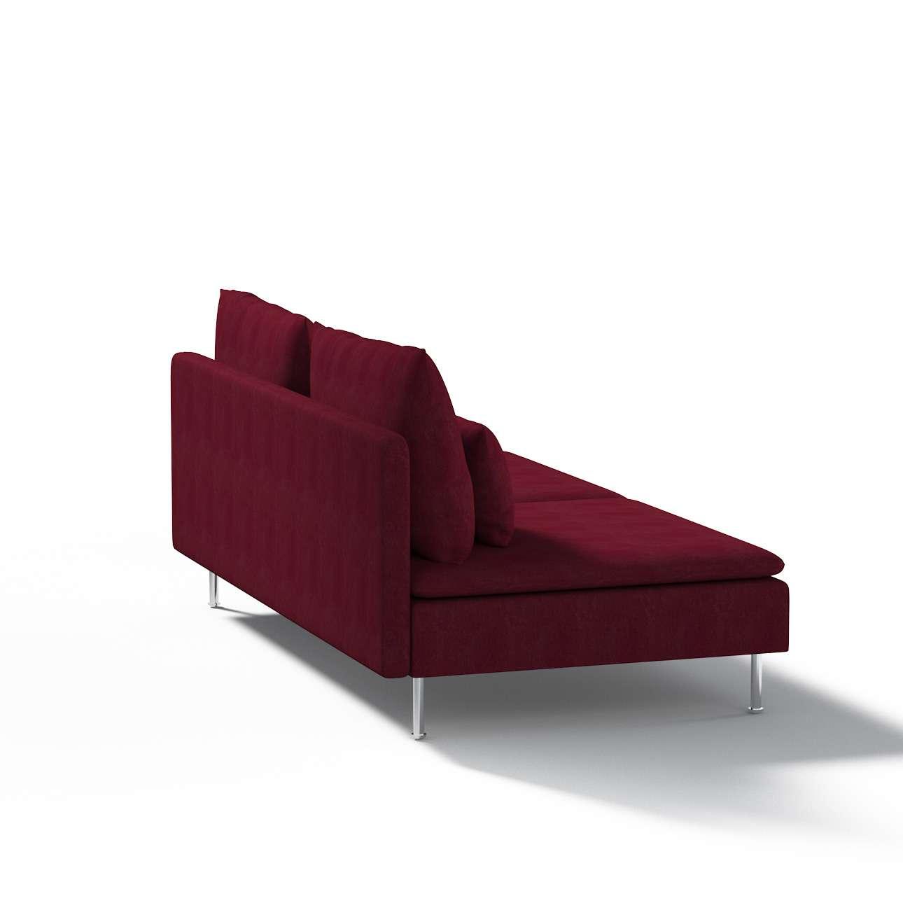 Ikea Söderhamn trivietei sofai užvalkalas Ikea Söderhamn moduliniai trivietei sofai užvalkalas kolekcijoje Chenille, audinys: 702-19