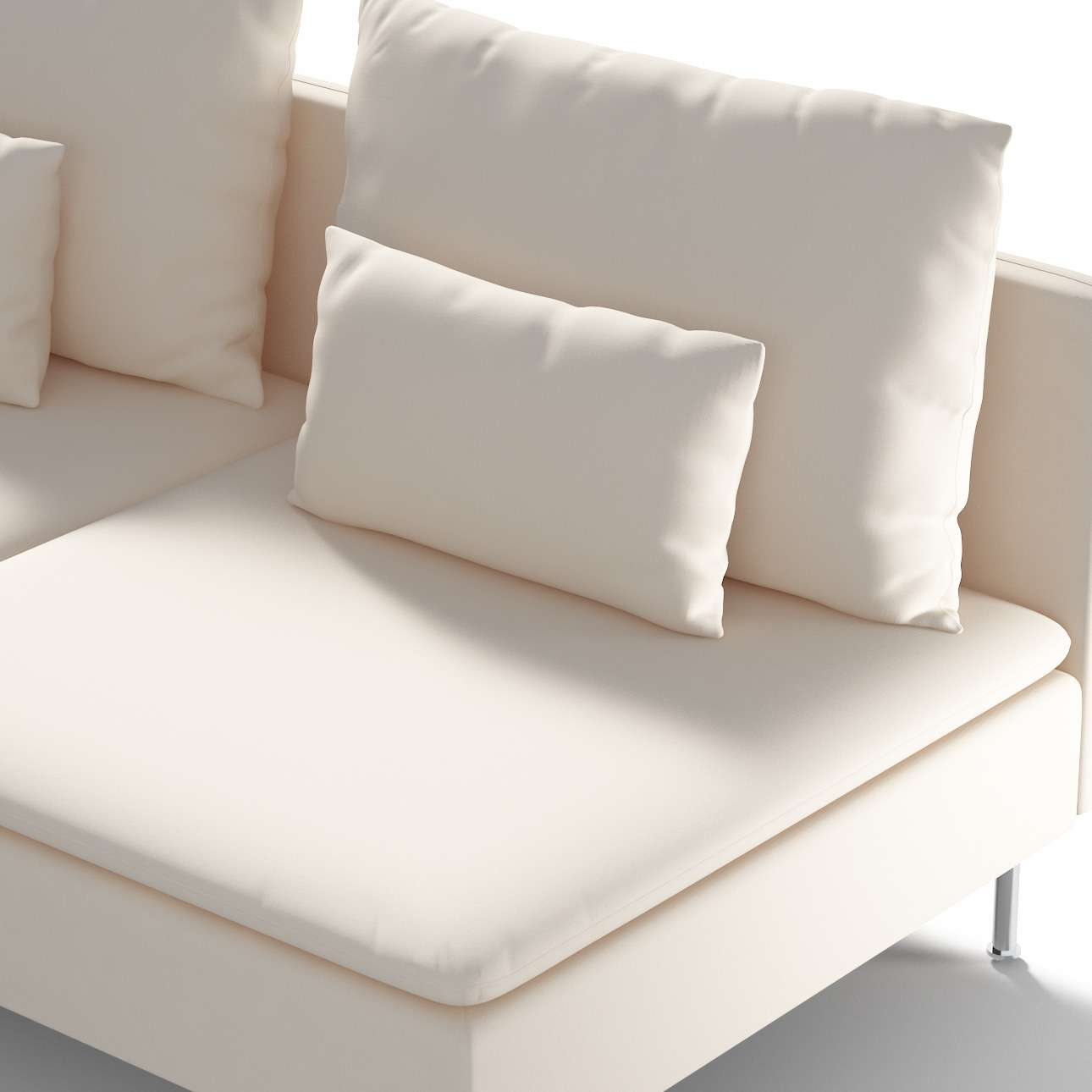 Ikea Söderhamn trivietei sofai užvalkalas Ikea Söderhamn moduliniai trivietei sofai užvalkalas kolekcijoje Etna , audinys: 705-01