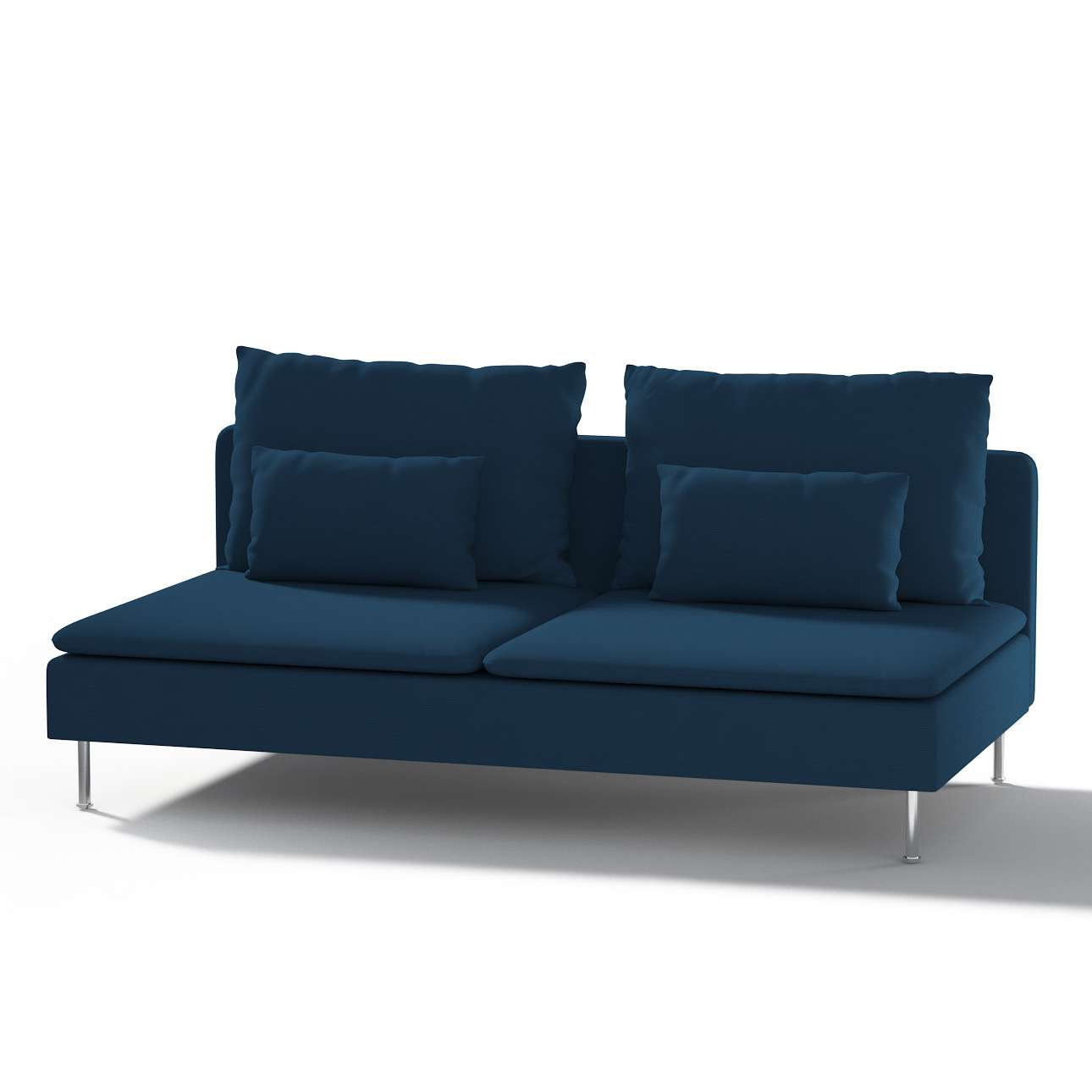Söderhamn Bezug für Sitzelement 3 Sitzelement 3 von der Kollektion Cotton Panama, Stoff: 702-30