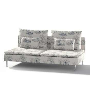 Ikea Söderhamn trivietei sofai užvalkalas kolekcijoje Avinon, audinys: 132-66